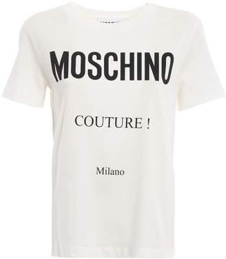 Moschino Couture White Tee