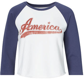 Ralph Lauren Denim & Supply Cotton Graphic Sweatshirt $69.50 thestylecure.com