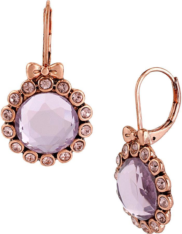 Betsey Johnson Crystal Gem Earring