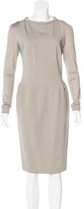 Twin.Set Midi Sheath Dress $90 thestylecure.com