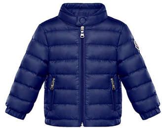 Moncler Acorus Lightweight Down Jacket, Size 12M-3Y