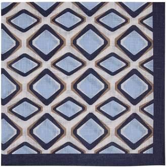 Reiss Francisco - Linen Pocket Square in Soft Blue