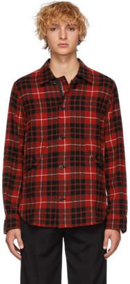 Comme des Garcons Homme Red Tartan Shirt