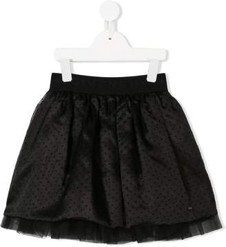 Givenchy Kids polka-dot tulle skirt