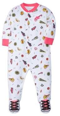 Nike Baby's Printed Footed Coverall
