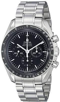 Omega Men's 31130423001005 Analog Display Mechanical Hand Wind Silver Watch