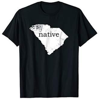 South Carolina Native Shirt Love State Home Distressed Tee