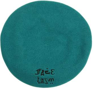 Facetasm Logo Embroidered Wool Beret