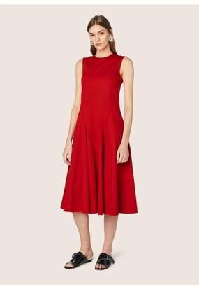 Derek Lam Sleeveless Dress With Flare Skirt