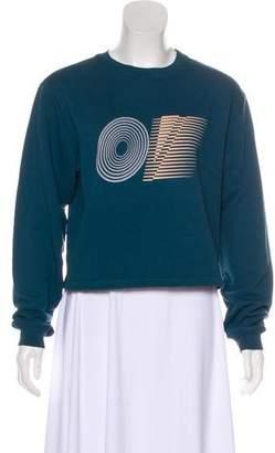 Outdoor Voices Long Sleeve Graphic Sweatshirt