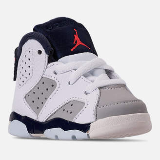 Nike Kids' Toddler Air Jordan Retro 6 Basketball Shoes