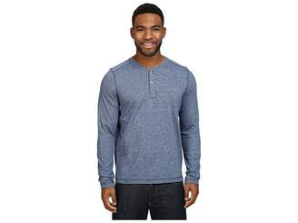 The North Face Long Sleeve Copperwood Henley (Shady Blue Heather