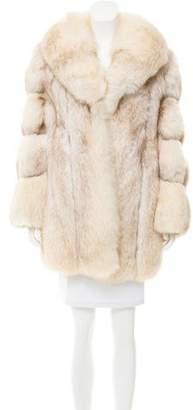 Arctic Snow Fox Coat