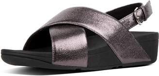 FitFlop Lulu Faux Leather Back-Strap Sandals