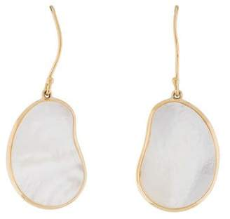 Ippolita 18K Mother of Pearl Bean Earrings