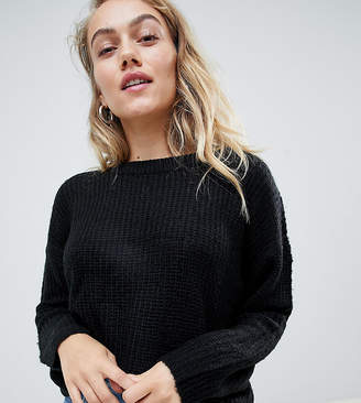 Brave Soul Petite round neck sweater