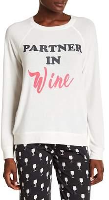 PJ Salvage Partner in Wine Pajama Pullover