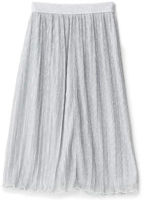 Iosonomao シルバー ラメ入りスカート