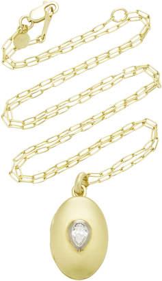 Ila Pia 14K Gold and Diamond Necklace