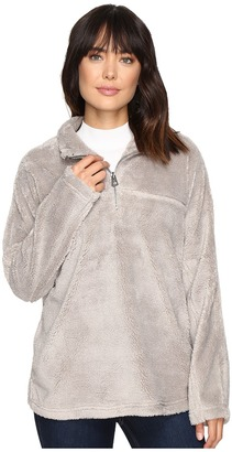 Dylan by True Grit Plush Pebble Pile Stadium Pullover Top w/ Side Seam Pockets $106 thestylecure.com