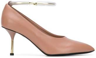Jil Sander ankle strap pumps