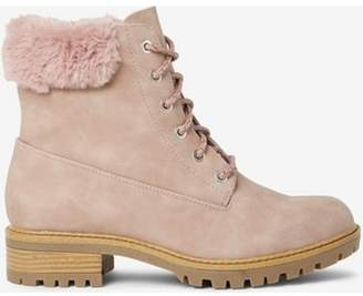 Dorothy Perkins Womens Blush 'Malmo' Hiker Boots