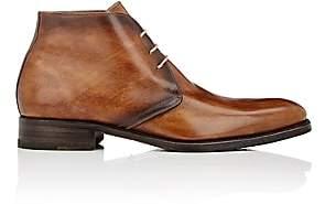 Harris Men's Burnished Chukka Boots-Med. brown