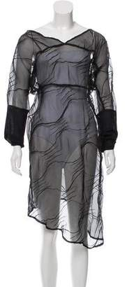 Ivan Grundahl Long Sleeve Midi Dress