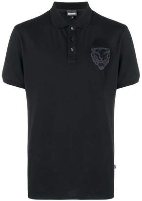 Just Cavalli tiger polo shirt