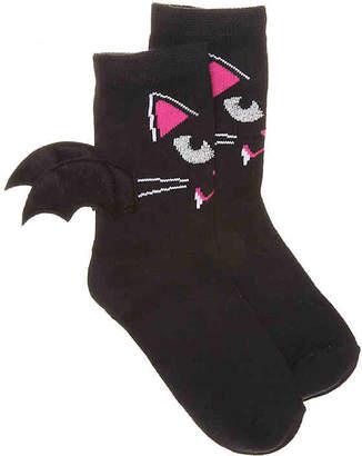 High Point Design Bat Wings Toddler Crew Socks - Girl's