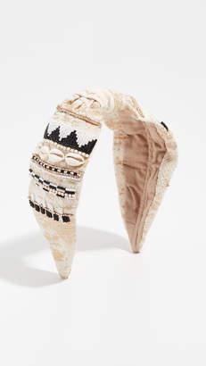 NAMJOSH Embellished Shell Headband