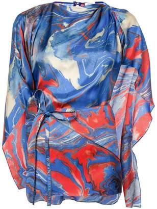 Rosie Assoulin kaftan-style blouse