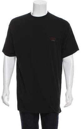 Balenciaga Sinners Woven Crew Neck T-Shirt