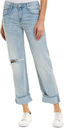 True Religion Monday Blues Relaxed Straight Crop