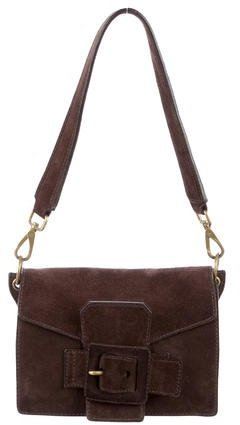 Miu Miu Miu Miu Small Suede Shoulder Bag