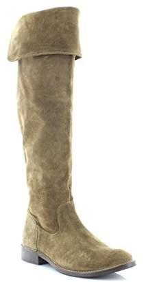 Frye Women's Shirley OTK Suede Slouch Boot