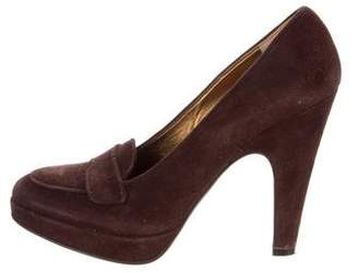 Prada Platform High-Heel Pumps