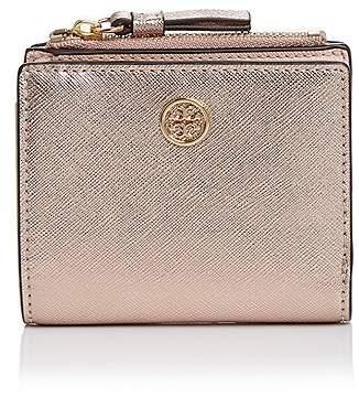 Tory Burch Robinson Mini Leather Wallet