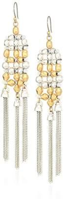Lucky Brand Women's Statement Fringe Earrings