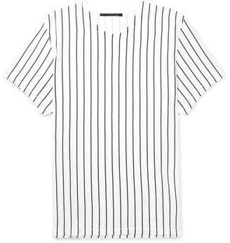 Haider Ackermann Oversized Striped Cotton-Jersey T-Shirt