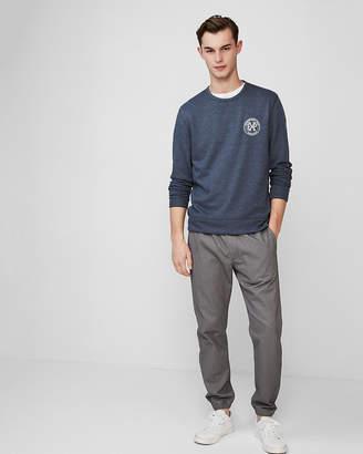 Express Supersoft Vintage Fleece Crew Neck Sweatshirt