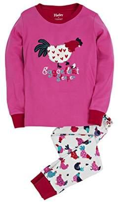Hatley ハットレイ キッズ女の子 ガールズパジャマ、エッグセレント スリーパー 120cm 、6Y(119cm) マルチカラー 綿100% PJCHENS001