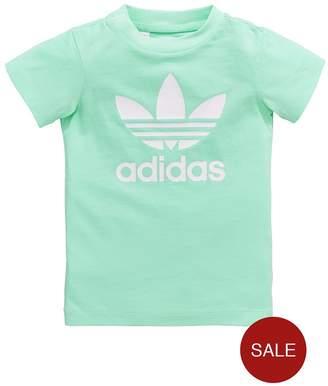 adidas Baby Girls Zoo Tee Set