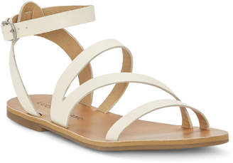 Lucky Brand Linen Andies Strappy Flat Sandals