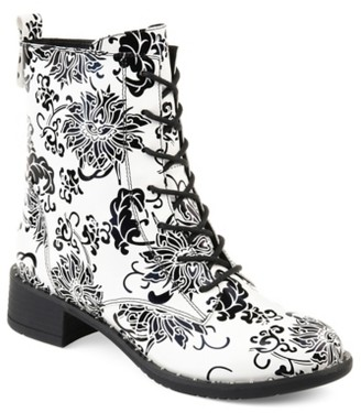 Journee Collection Yvonne Combat Boot