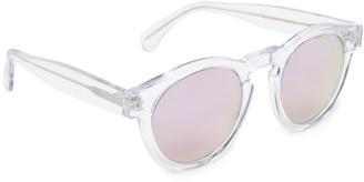 Illesteva Limited Editon Leonard Mirrored Sunglasses $177 thestylecure.com