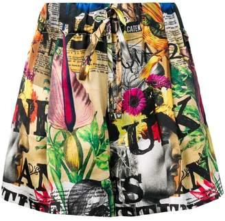 DSQUARED2 elasticated waist shorts