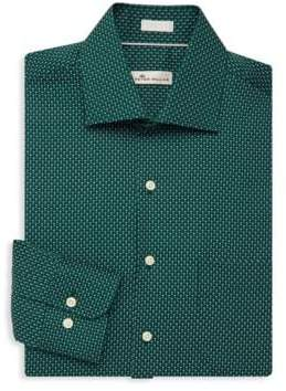 Peter Millar Printed Dress Shirt