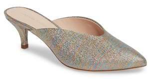 Loeffler Randall Juno Glitter Rainbow Stripe Mule