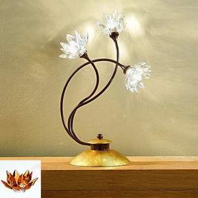Florale Tischleuchte Fiorella